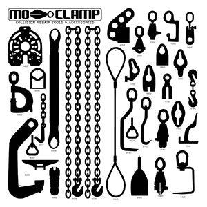 Mo-Clamp Deluxe Tool Board w/ Tools
