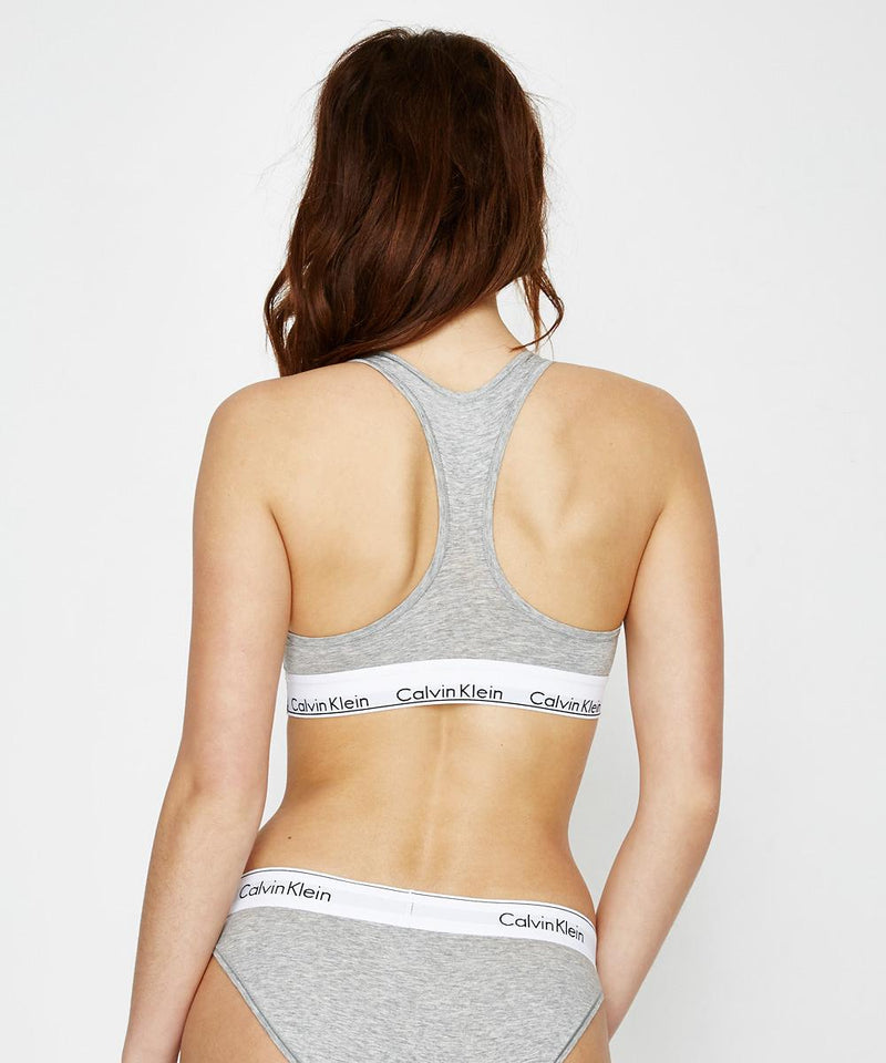 CK Modern Cotton  Bralette - Racer Back