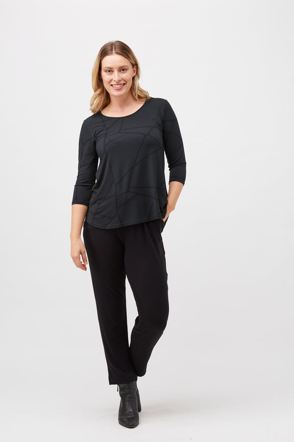 Tani - New Relax 3/4 Sleeve  Top