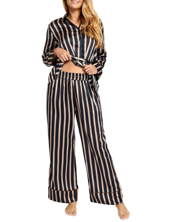 Jockey -  Stripe Satin Lounge Pants