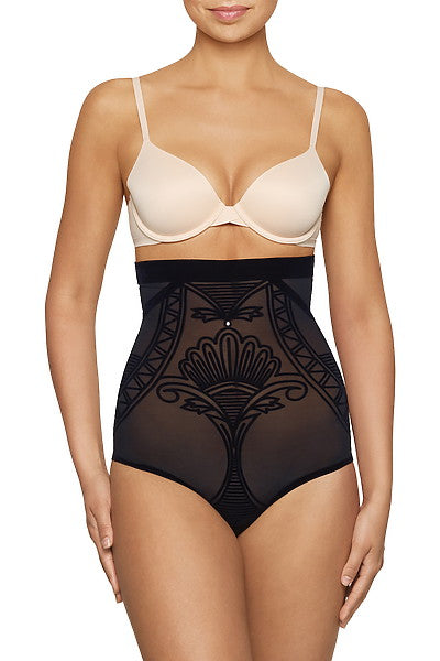 Nancy Ganz - Enchantè Sheer High Waist Brief