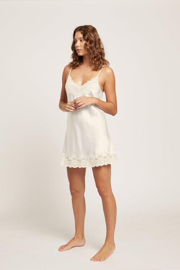 Ginia  Silk Lace Chemise