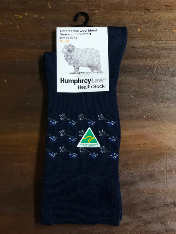 Humphrey Law - Soft Merino HealthSock