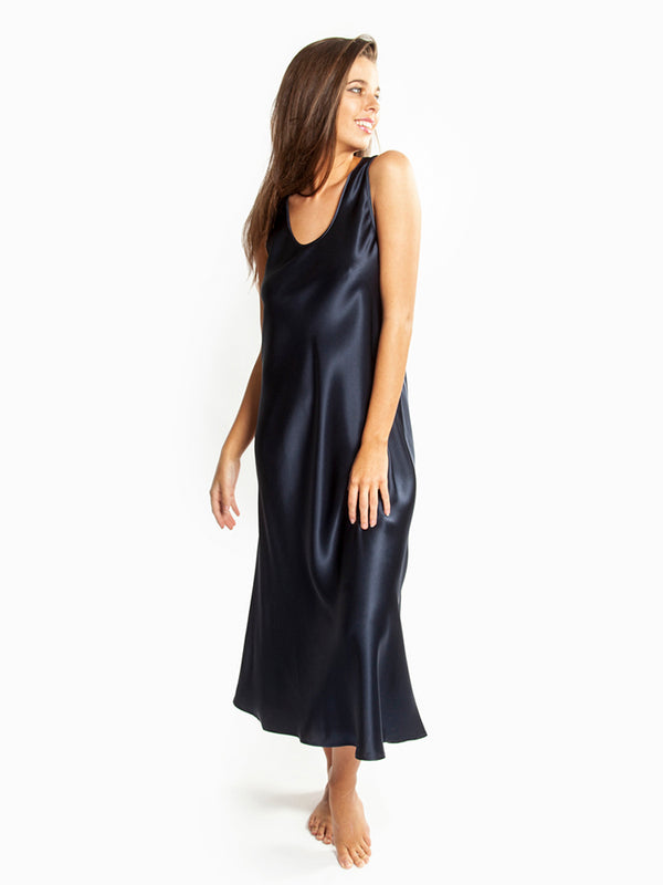 Love & Lustre - Mono Silk Long Nightie