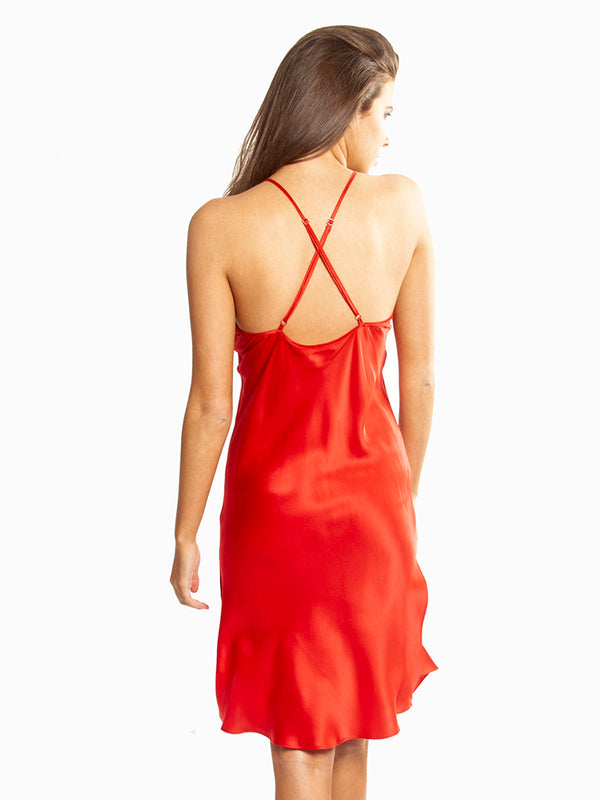 Love & Lustre - Valentines Day Silk Chemise