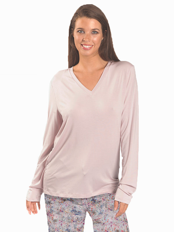 Love & Lustre - Mix & Match long sleeve Modal top
