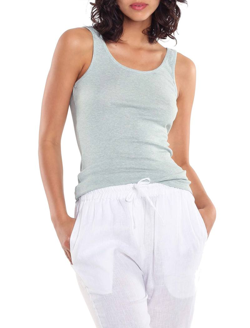 Basic Cotton Modal Singlet