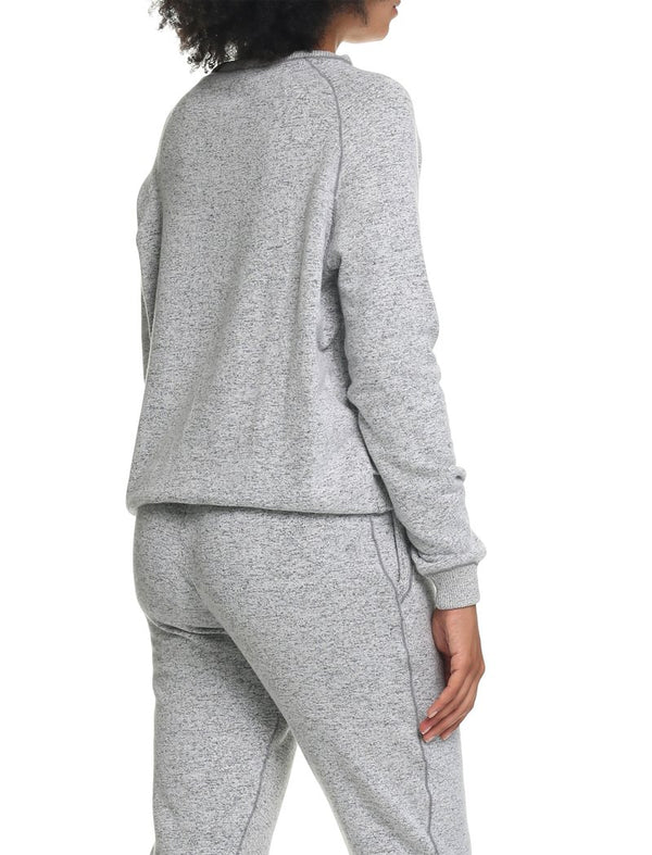 Papinelle - So Soft Fleecy Narrow  Loungepant Charcoal