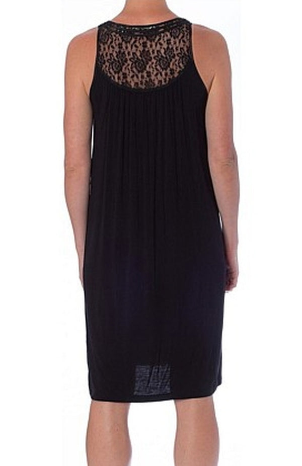 Yuu - Lace sleeveless Nightdress