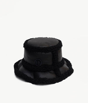 Bucket Hat with faux fur details (4669816897584)