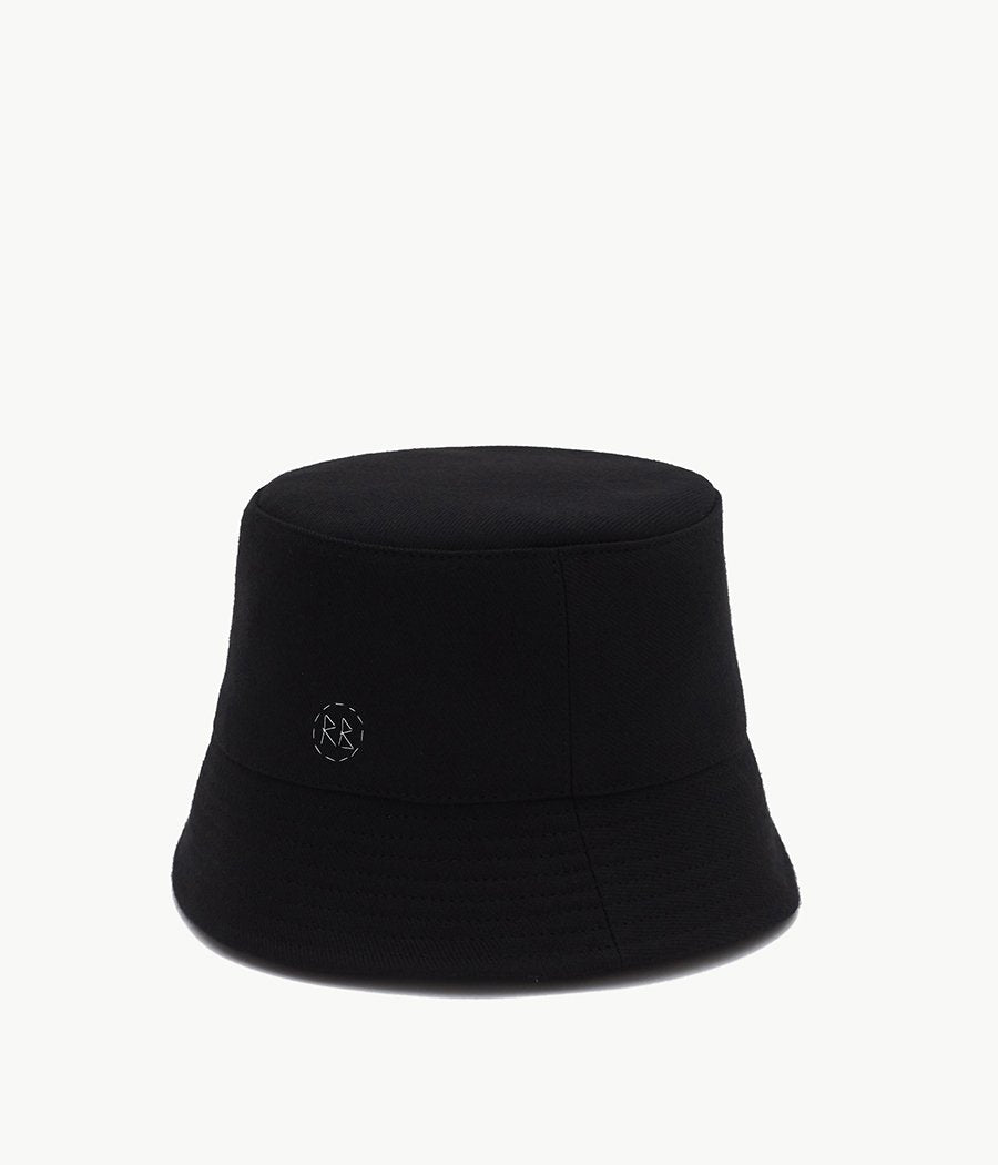 Monogram-embellished Bucket Hat