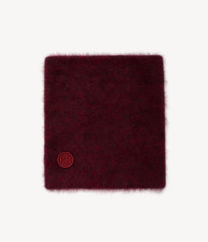Marsala Logo Patch Buff Scarf