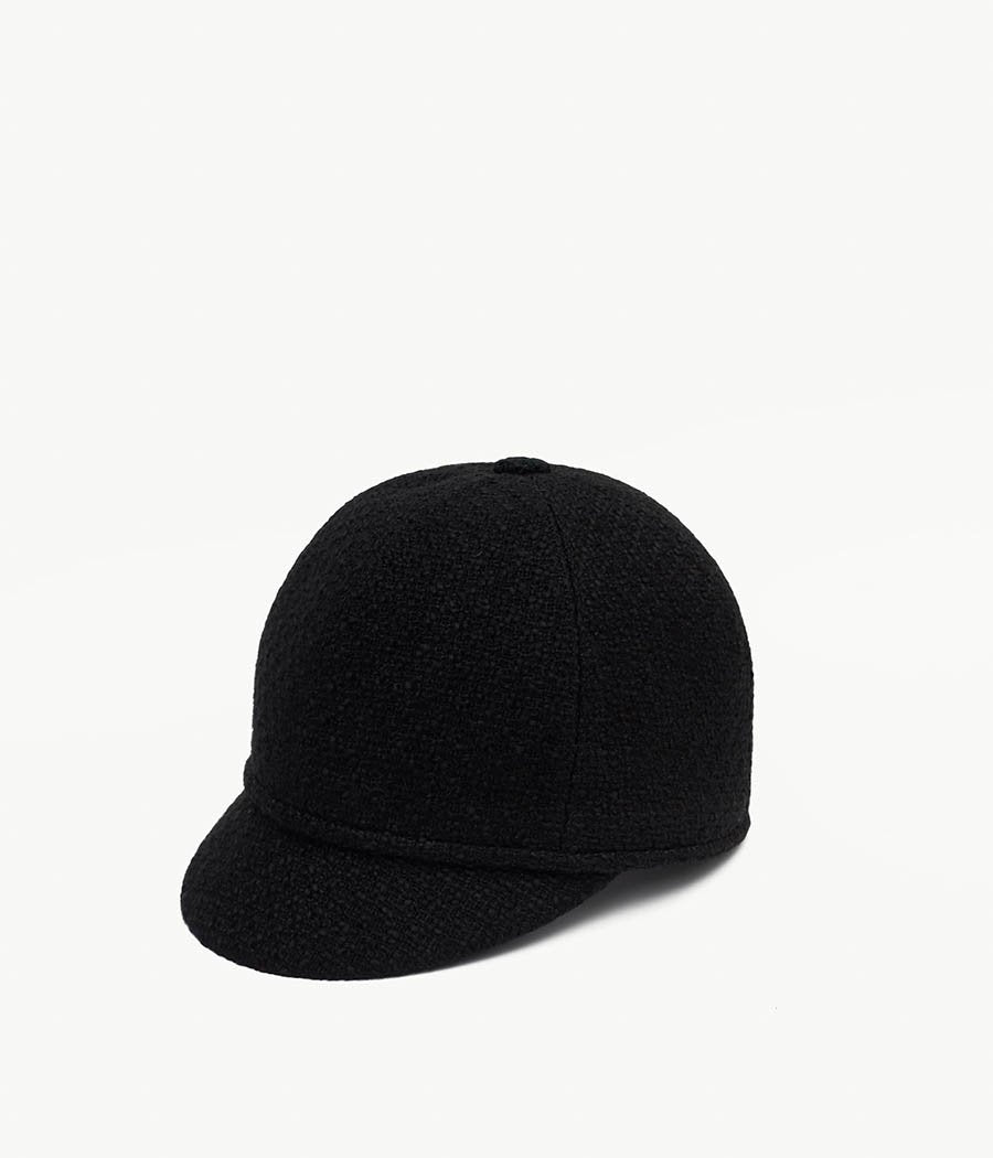 Black Cloche hat (4669817290800)