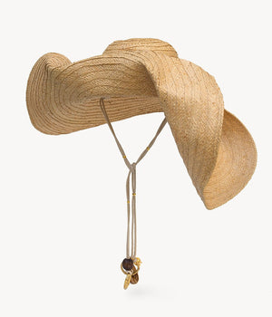 Oversized Straw Hat