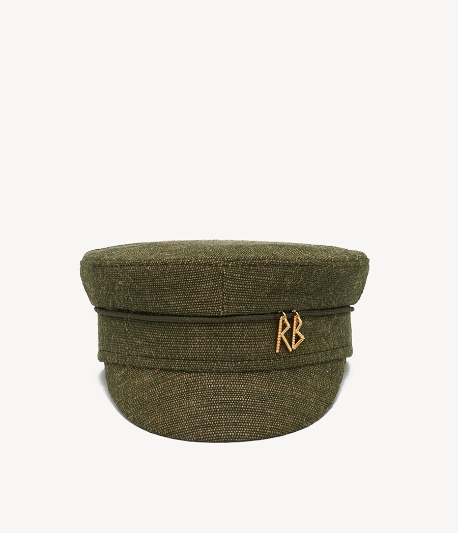 Monogram-embellished Baker Boy Cap
