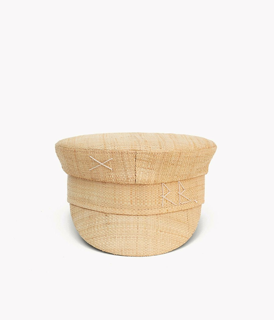 Straw baker boy cap (4622636220464)