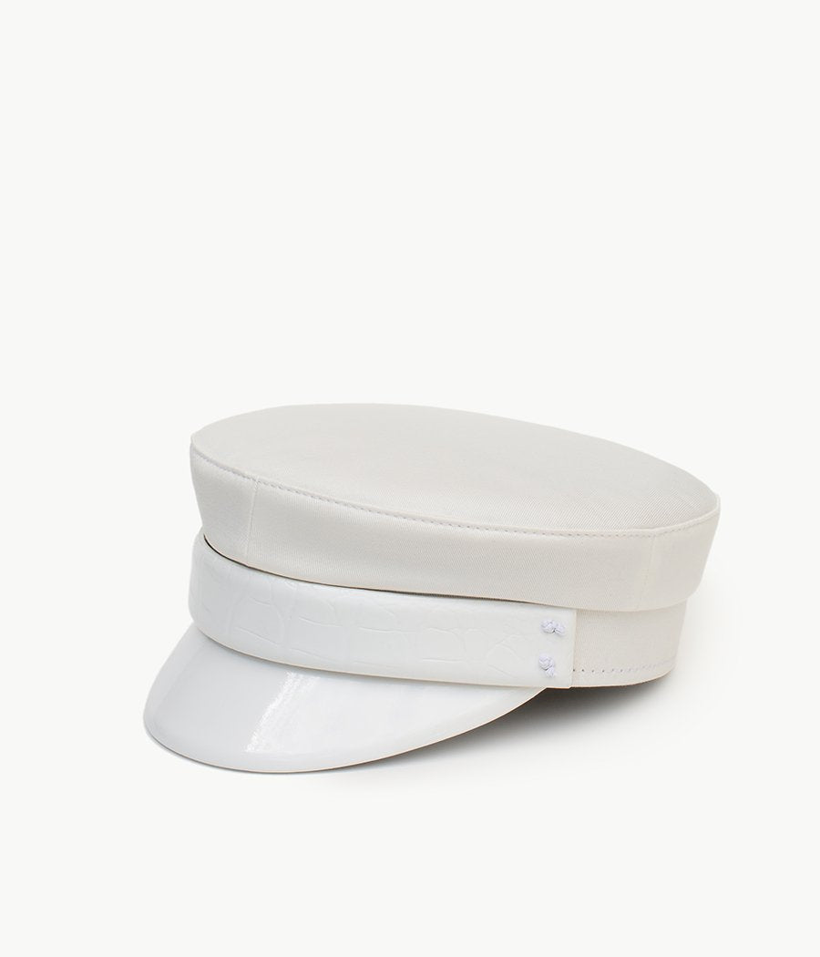 White baker boy cap (4622636843056)