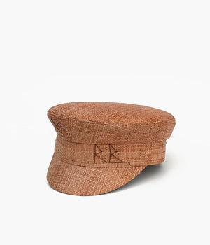 Straw baker boy cap (4622639169584)