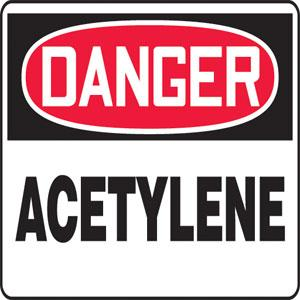 Chemical, Hazardous Materials and Spill Control Signs