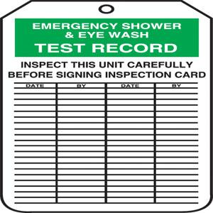 Inspection and Status Record Tags