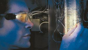 3M™ Light Vision™ Safety Eyewear with LED Lights