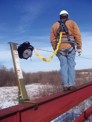 EZ-Line™ Retractable Horizontal Lifeline System