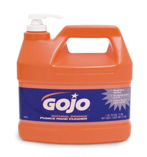 GOJO® NATURAL* ORANGE™ Pumice Hand Cleaners