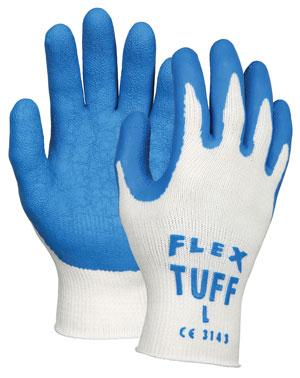 Flex-Tuff® Latex-Dipped Work Gloves