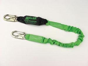 StretchStop® Lanyards with SofStop® Shock Absorber