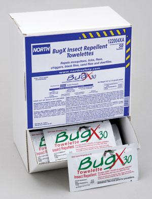 BugX® 30 Towelettes