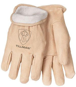 1412 Pigskin Fleece-Lined Gloves
