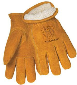 1450 Cowhide Split Pile-Lined Gloves