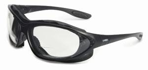 Uvex Seismic® Sealed Eyewear with Reading Magnifiers