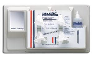 Uvex Clear® Permanent Lens Cleaning Station