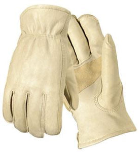 Palomino Grain Cowhide Drivers Gloves