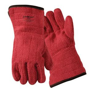 Red Flame Heat-Resistant Gloves