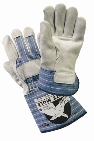 White Mule® Leather Palm Gloves