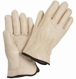 Grain Cowhide Leather Gloves