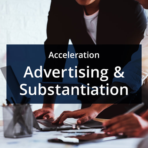 MarketReady Insights - Acceleration Package - Advertising & Substantiation