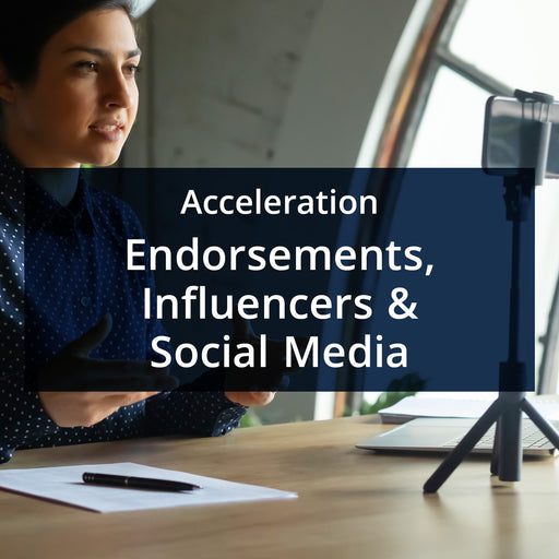 MarketReady Insights - Acceleration Package - Endorsements, Influencers & Social Media