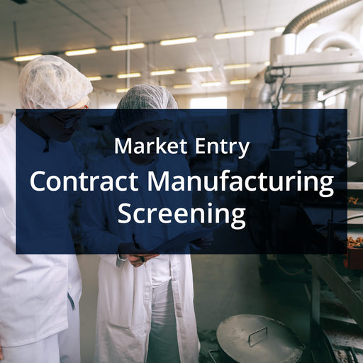 MarketReady Insights - Market Entry Package - Contract Manufacturing Screening