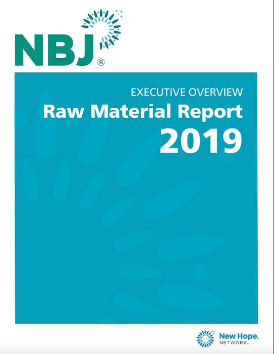 Executive Overview: 2019 Raw Material Report