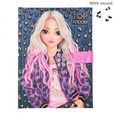 TOPModel Diary With Code And Sound LEO LOVE
