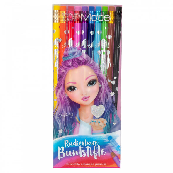 TOPModel Erasable Coloured Pencils