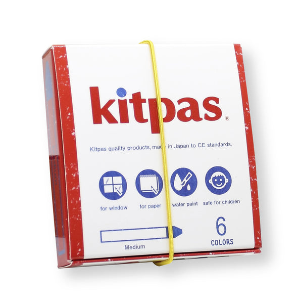 Kitpas Crayon 6 Colours