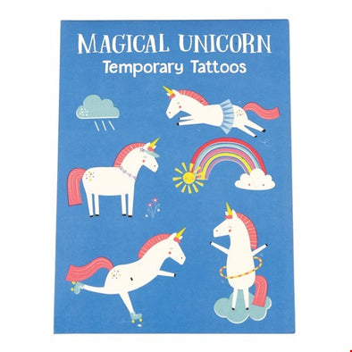 Magical Unicorn Temporary Tattoos (2 Sheets)