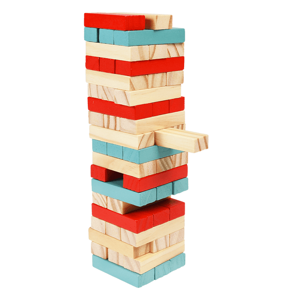 Mini Wooden Topple Tower