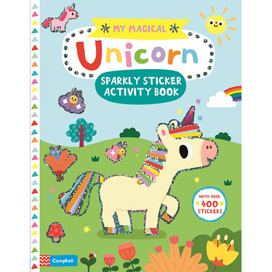 My Magical Unicorn Sparkly Sticker Activity