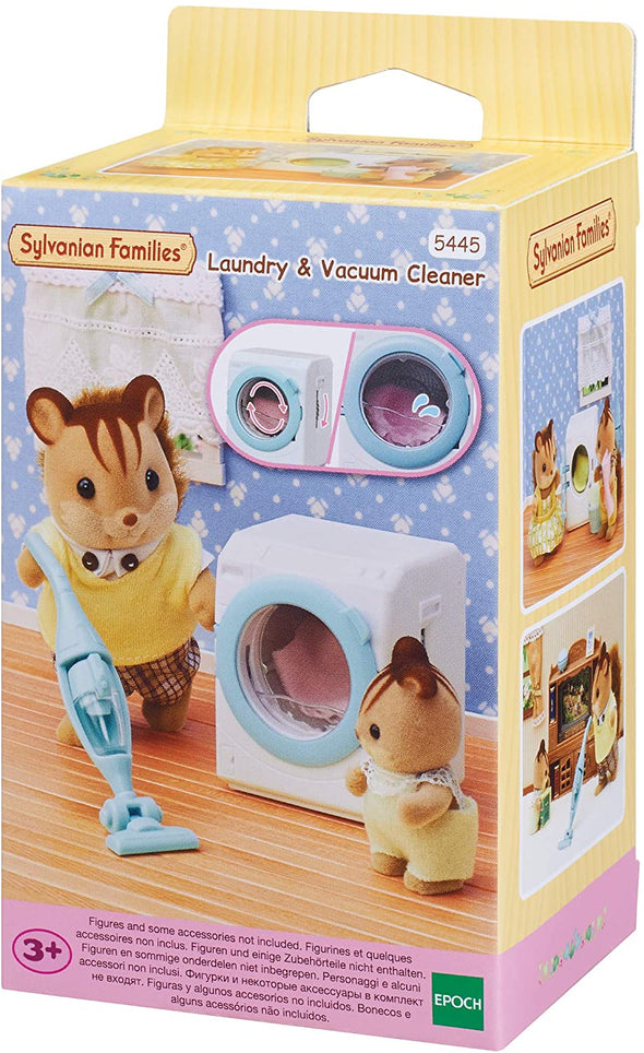 SYLVANIAN FAMILIES - LAUNDRY & VACUUM CLEANER