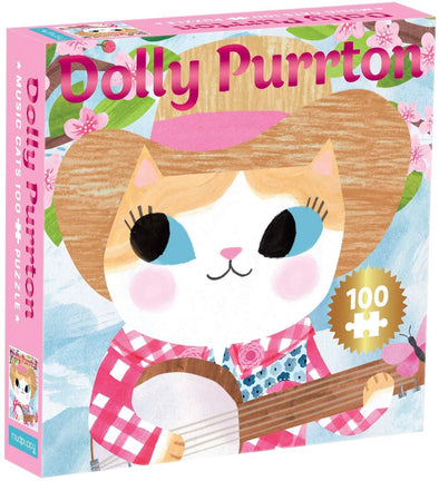 DOLLY PURRTON MUSIC CATS 100 PIECE JIGSAW PUZZLE